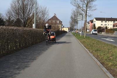 So lässt es sich Fahrradfahren.
