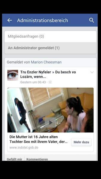 Auf Facebook geht zurzeit ein fieser «Porno-Virus» um.