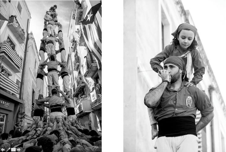 Zwei Fotografien von Anja Wurm, welche derzeit an der Fotowerkschau in der Kornschütte ausgestellt sind. (Bild: Anja Wurm)