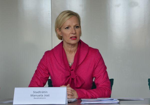 Manuela Jost, Baudirektorin der Stadt Luzern.