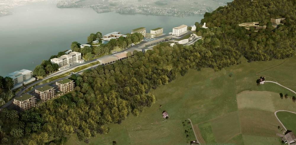 So soll das Bürgenstock Resort bis 2017 aussehen.
