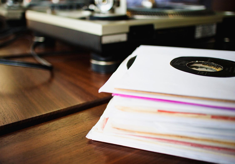 Vinyl-Singles – aber nur im Original.
