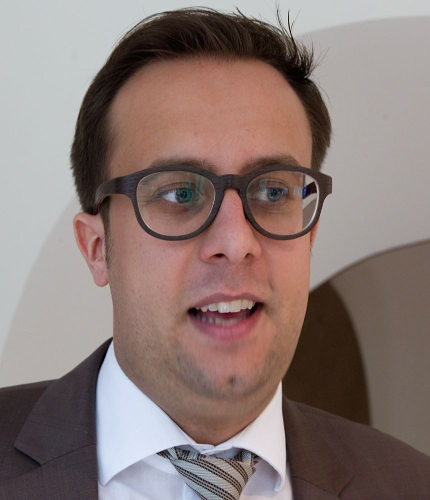 Hoteldirektor Tim Moitzi.
