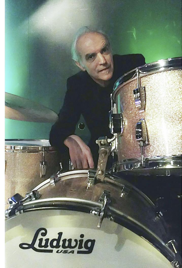 Schlagzeugliebhaber – und seit neustem Buchmacher: Pit Furrer.