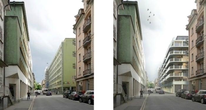 Vorher – Nachher (Bild: Rohrer Sigrist Architekten)