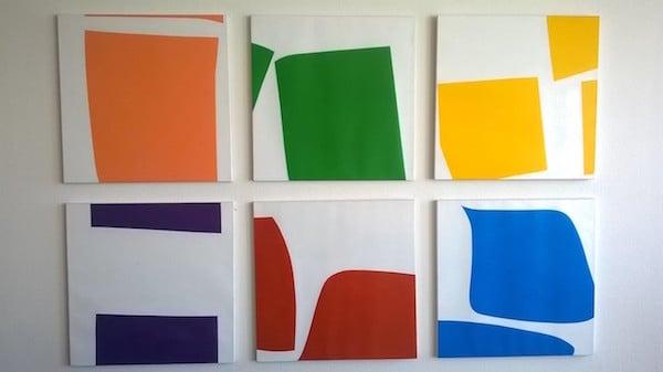 Sechs Teile von Hanna Jans. (Foto: Matthias Michel)