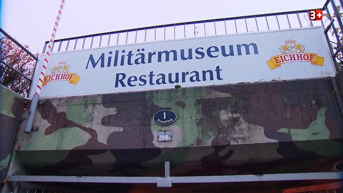 Der Restauranttester war beim Militärmuseum in Kriens zu Gast. (Bild: Printscreen 3+)