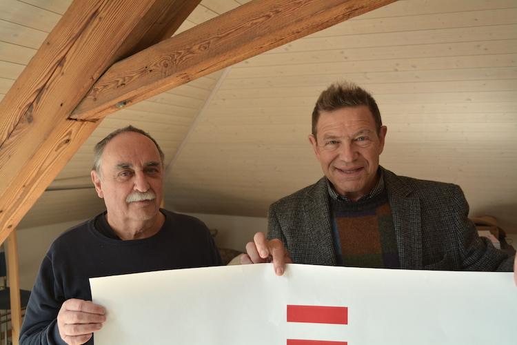 Bringen österreichische Kultur nach Zug: Armin Oswald (links) und Adrian Hürlimann von der Literarischen Gesellschaft Zug.