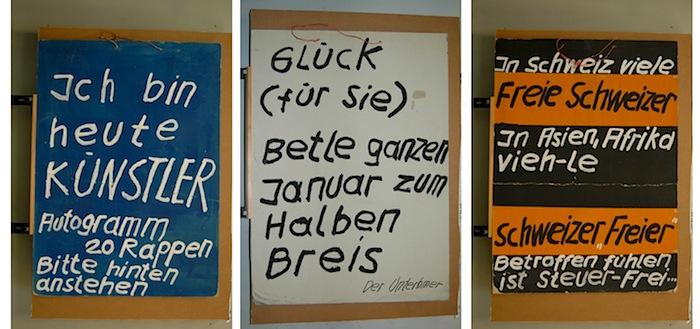 Einige Plakate aus dem Nachlass von Emil Manser. (Bild: Historisches Museum Luzern)