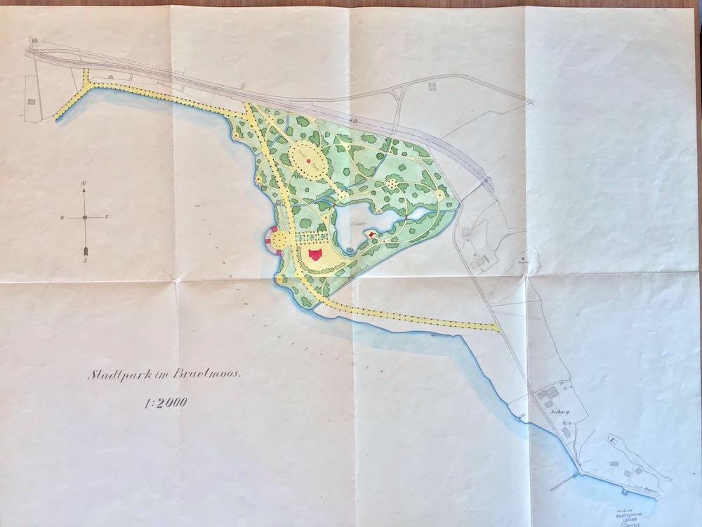 Plan vom Brüelmoos