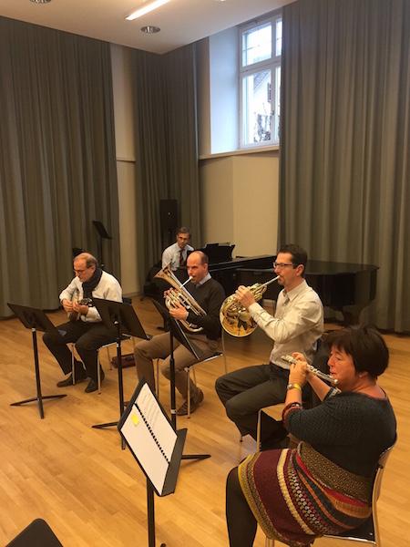 Die Stadtrats-Band bei einer ihrer Proben.