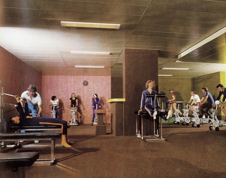 1977 – der erste Migros-Fitnesspark im Luzerner Tribschen-Quartier ist eröffnet.