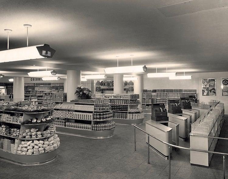 1949 wurde an der Zürichstrasse der erste Migros-Selbstbedienungsladen der Zentralschweiz eröffnet.