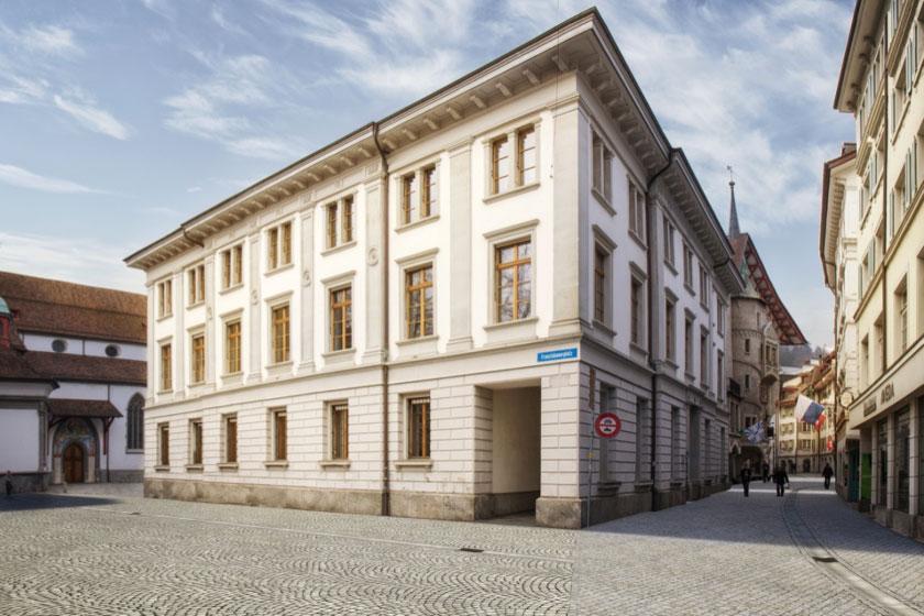 Bahnhofstrasse und Zugang zu Franziskanerplatz künftig mit neuer Pflästerung (Symbolbild).