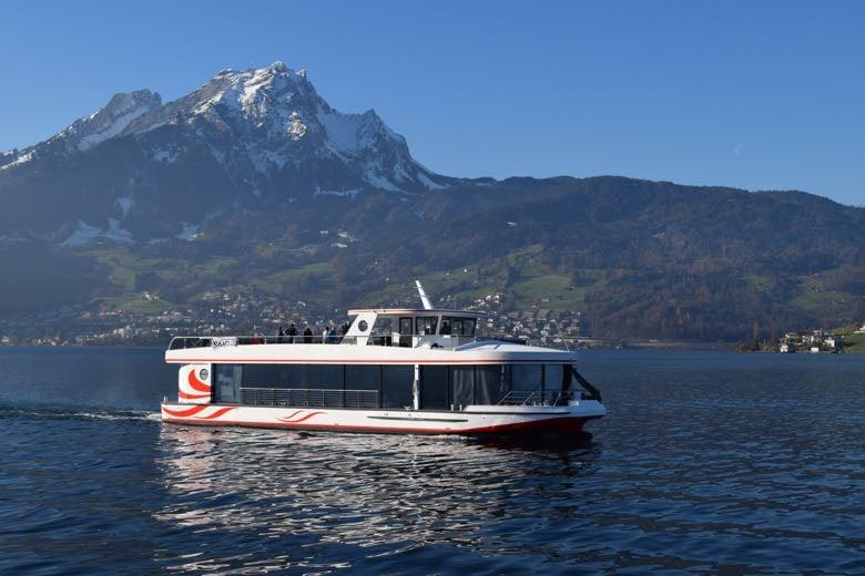 Am Donnerstag wird das neue Schiff getauft und begibt sich auf Jungfernfahrt.
