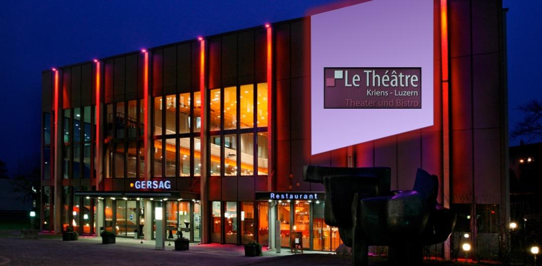 Im Gersag in Emmen wird künftig das Le Théâtre beheimatet sein. (Bild: Montage les)