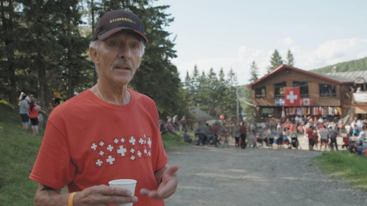 Hugo Studhalter feiert den 1. August in Kanada. (Bild: Voltafilm)