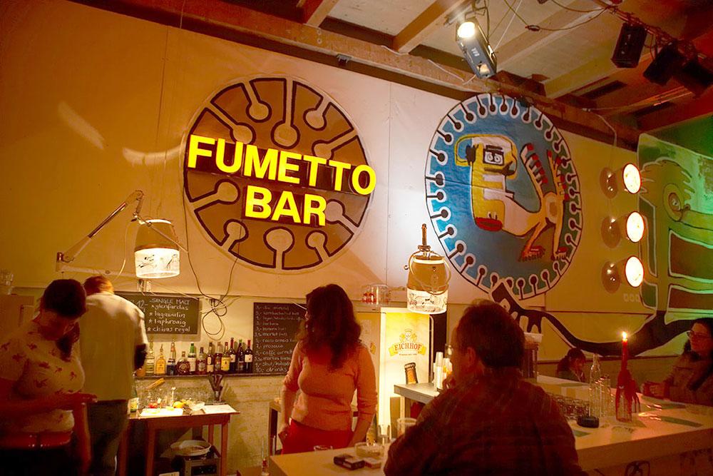 Fumetto-Bar in der Boa 2006. (Bild: Emanuel Ammon/AURA)