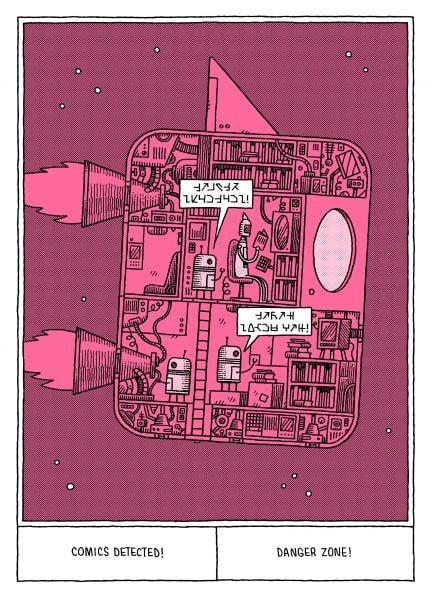 Ein Comic von Tom Gauld