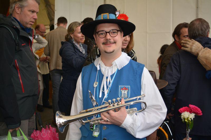 «Die Luzerner Zünfter boten uns sofort das Du an», sagt Marcel Spiess, Präsident des Musikvereins Zunft zu Oberstrass in Zürich.
