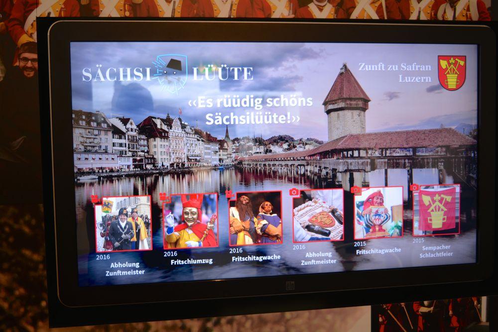 Die Luzerner Zunft wünscht Zürich ein «rüüdig» schönes Fest.