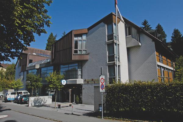 Die Jugendherberge in Luzern an der Sedelstrasse.