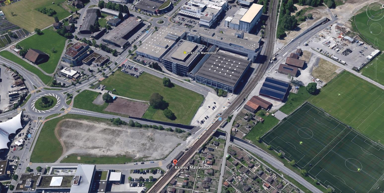 Der Schlundparkplatz (Schotterplatz) wird für die Luga gebraucht, deshalb musste eine rasche Lösung für die Jenischen gefunden werden.