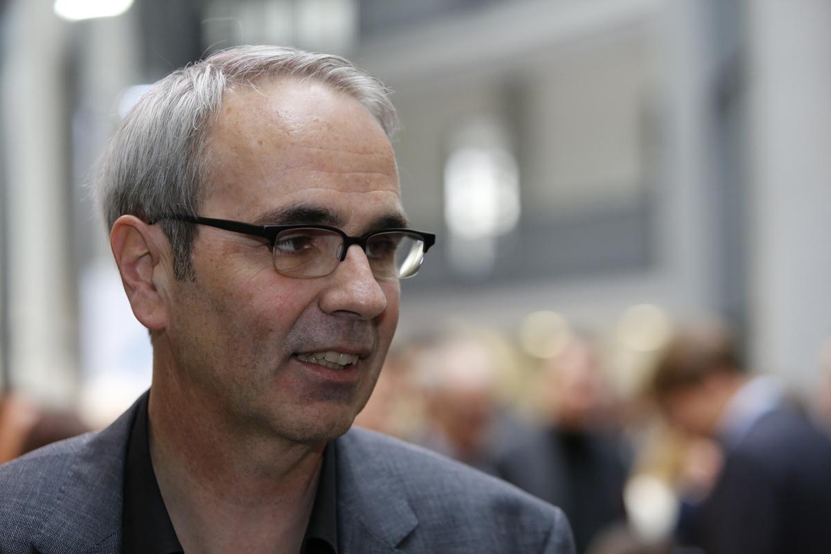 Hat gut lachen: Der im ersten Wahlgang gewählte Neuling der SP, Beat Züsli.