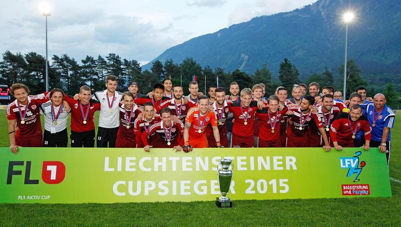 Der FC Vaduz gewann diesen Mittwoch zum 44. Mal den Liechtensteiner Cup.