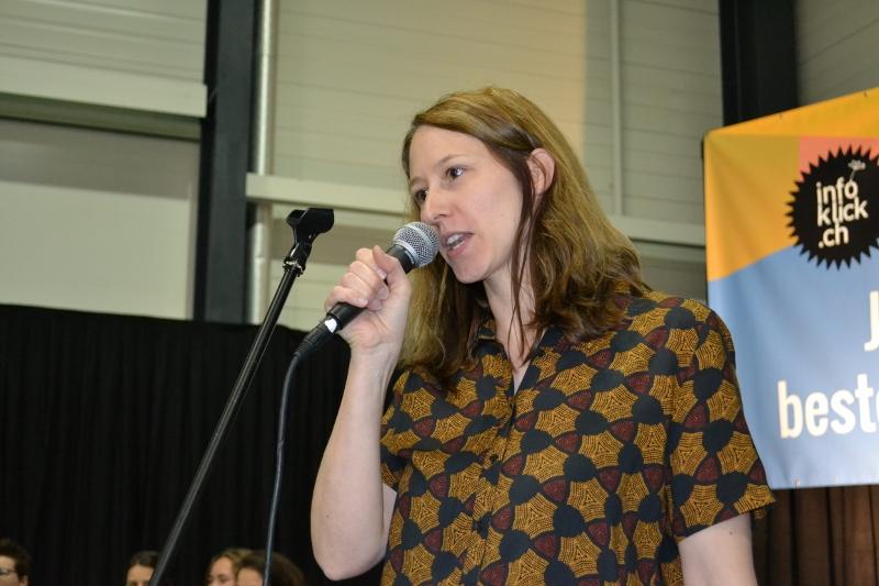 Projektleiterin Manuela Jutzi will, dass mehr Frauen auf Schweizer Bühnen stehen.