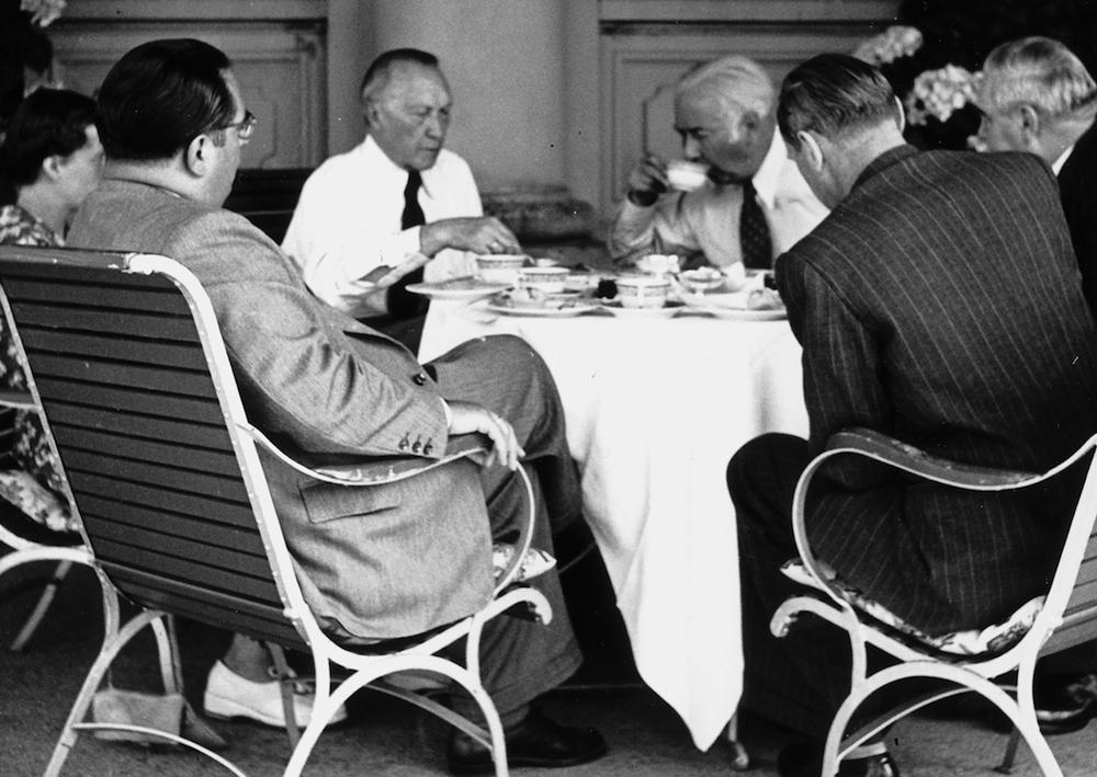 Konrad Adenauer auf dem Bürgenstock. (1950) (Bild: zvg)