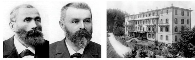 Franz-Josef Bucher und Josef Durrer waren die Pioniere ihrer Zeit. (Bild: zvg)