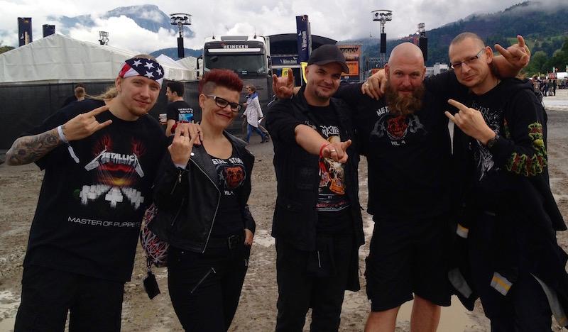 Metal Storm Luzern ist natürlich auch am Start.