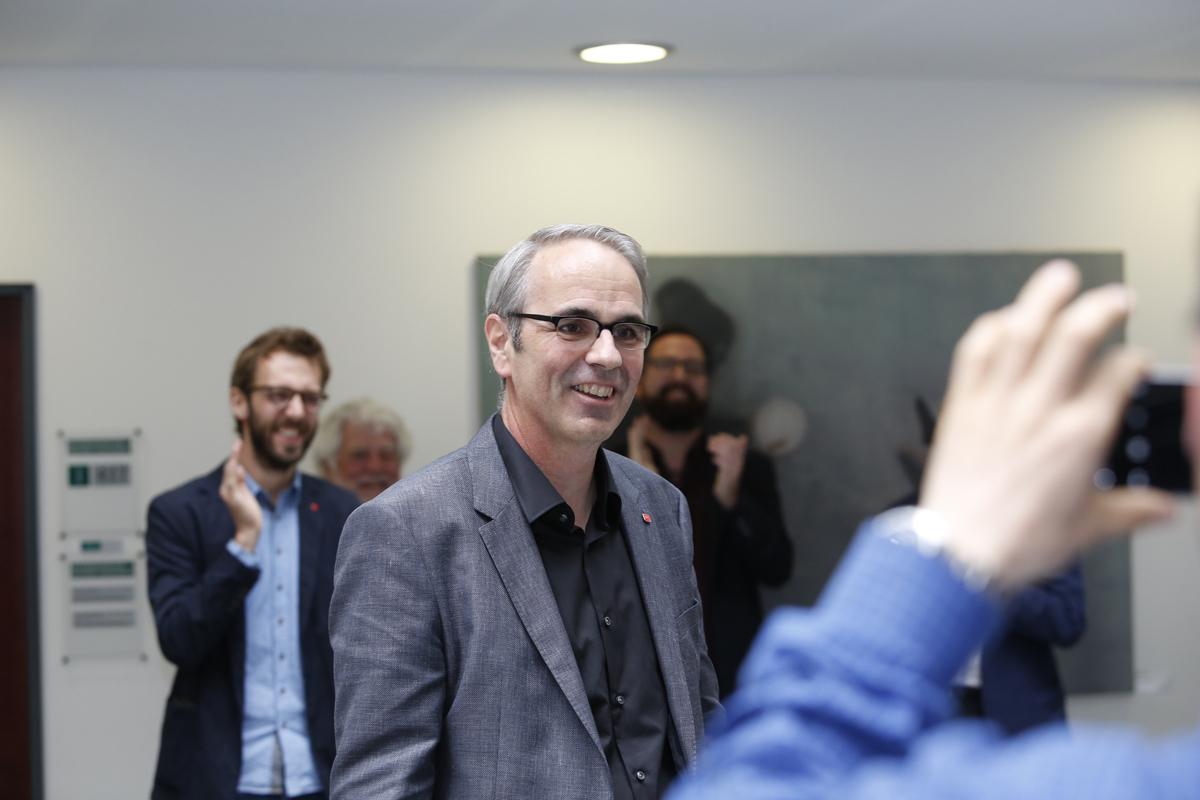 Mit Beat Züsli hat die Stadt Luzern erstmals einen linken Stadtpräsidenten. Er wirft Stefan Roth (CVP) aus dem Amt.