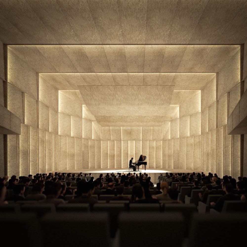 So soll der neue Kammermusiksaal aussehen.