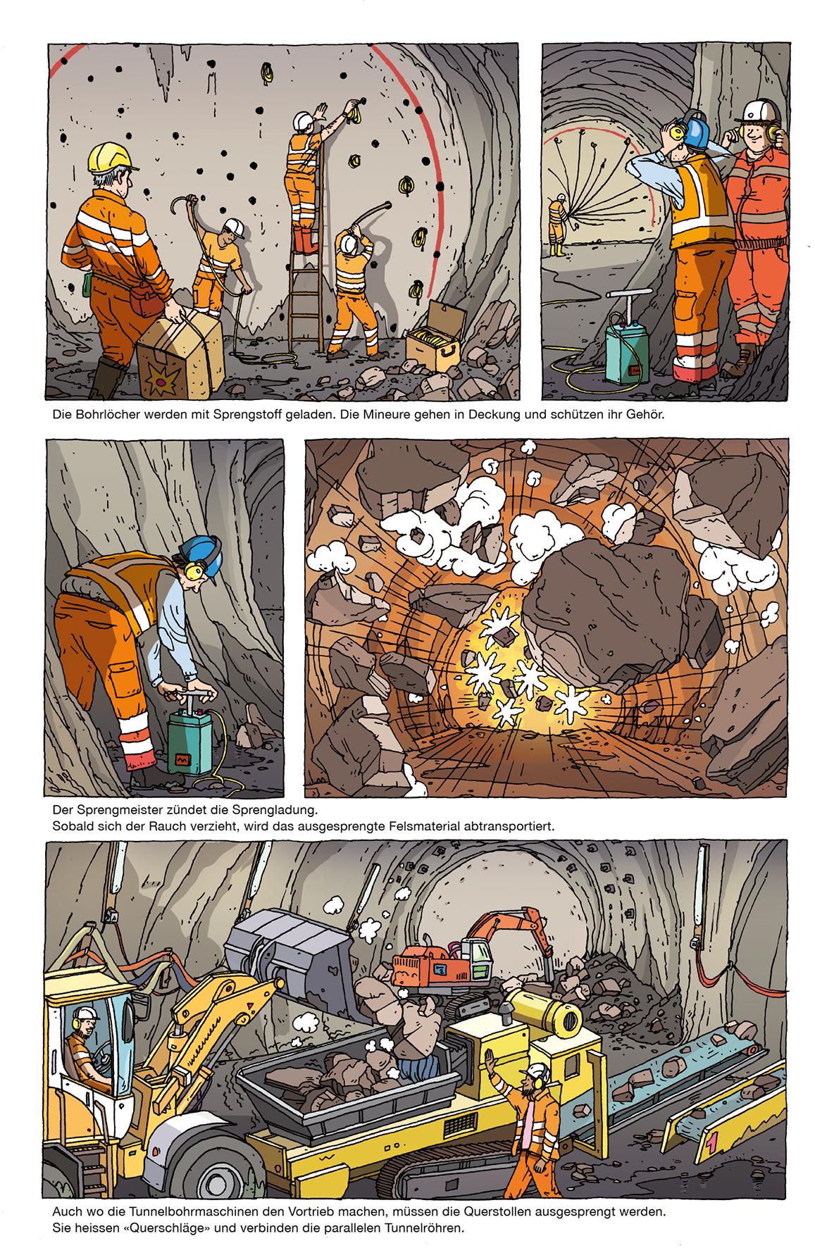 Dabei kann es durchaus auch dramatisch werden (Bild: Orell Füssli Verlag AG).
