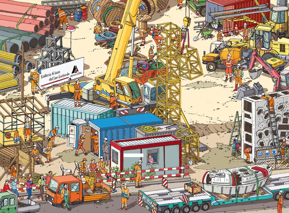 Bemerkenswert, wie viele Details Beck erfasst (Bild: Orell Füssli Verlag AG).