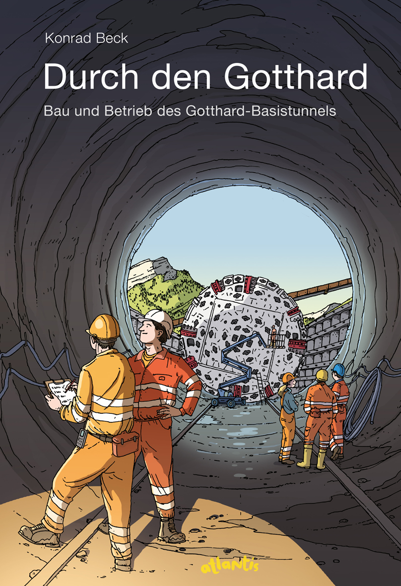 So sieht das Cover des Buches von Konrad Beck aus (Bild: Orell Füssli Verlag AG).