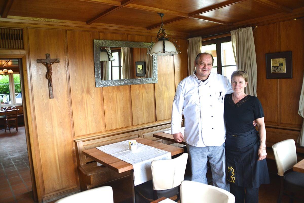 Peter Biberger führt den Betrieb mit seiner Partnerin Elke Hochheim.