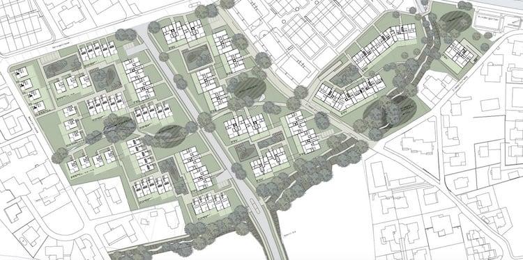 Das geplante Bauprojekt Zimel in Unterägeri.