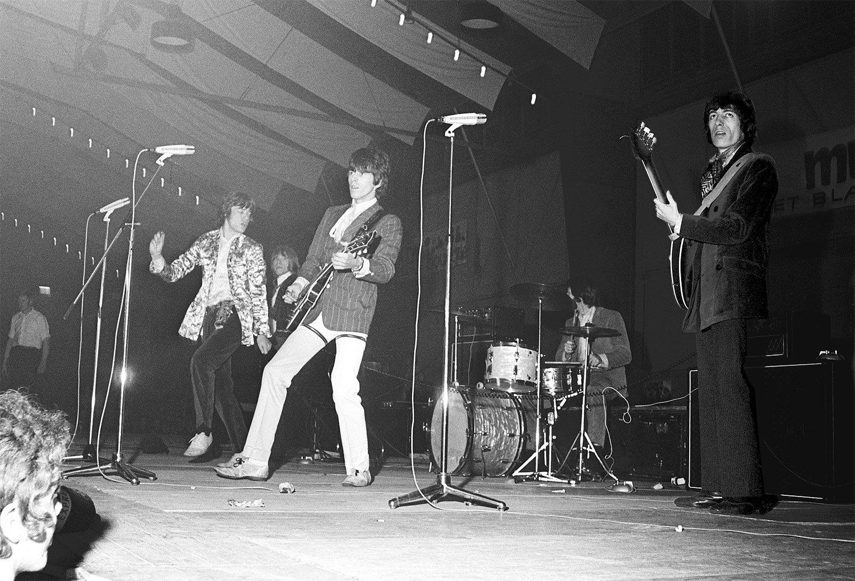 Da war Henk Bergmans dabei: die Rolling Stones 1967 in Den Haag. (Bild: Wikimedia/Nationaal Archief, Den Haag)