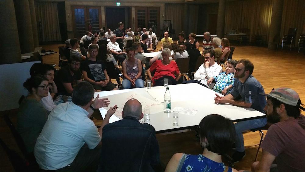 Rund 80 Personen debattierten am SP-Forum mit.