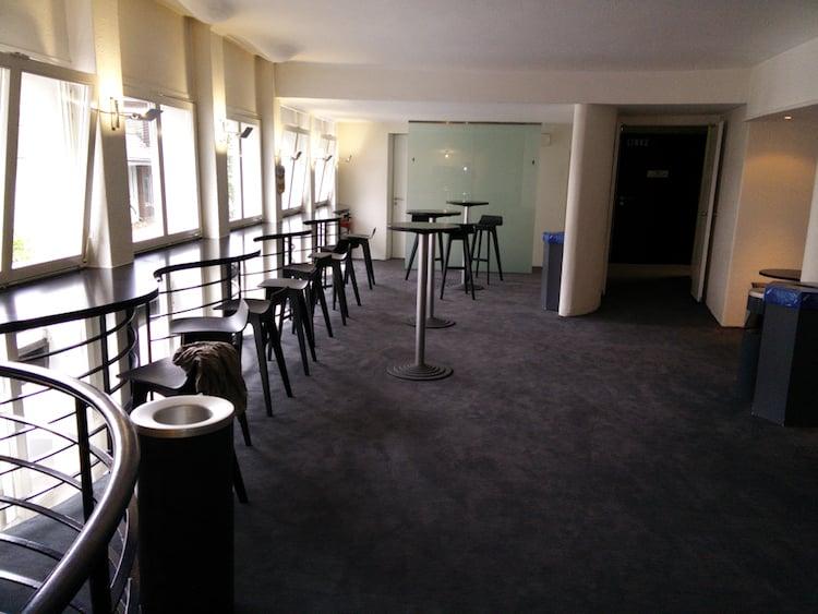Das Foyer im oberen Stock kommt nach dem Umbau grosszügiger daher.