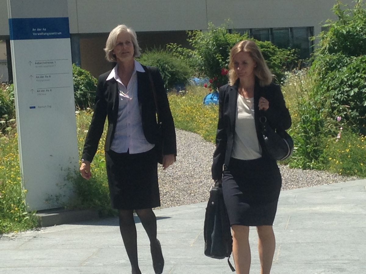 Die Staatsanwältinnen Karin Eisenring Hiestand und Regula Schlauri