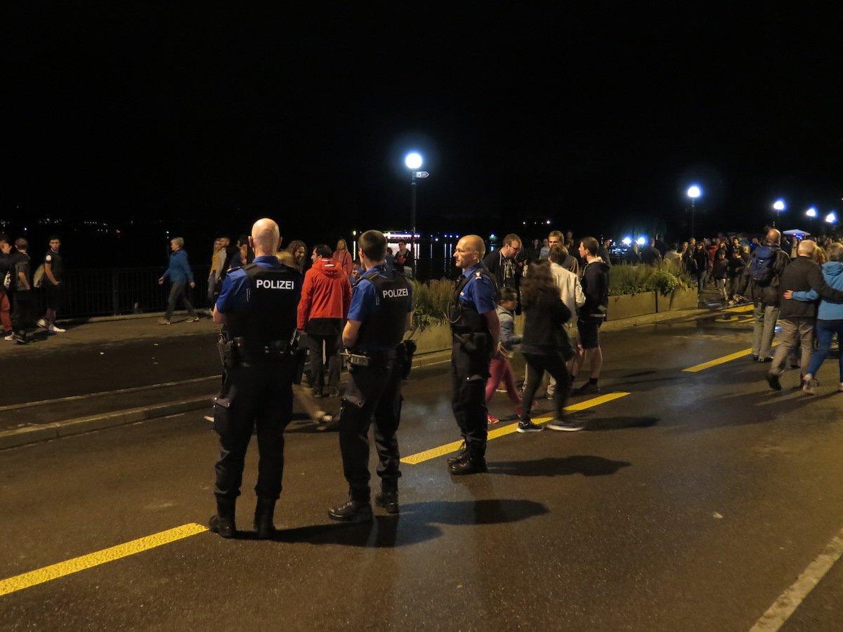 Die Zuger Polizei verbrachte einen ruhigen Abend.