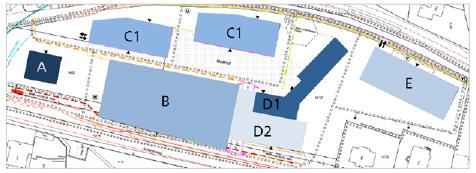 Planauflage zum Bebauungsplan des Areals.