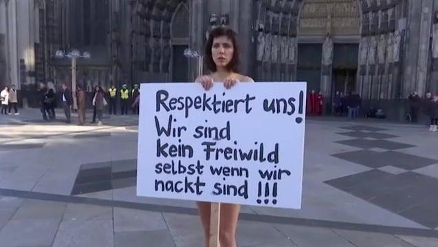 Köln milo moiré Schweizer Nacktkünstlerin