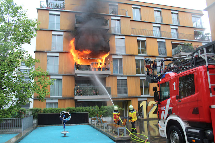Nur gut 20 Prozent aller Aufgaben der FFZ fallen in den Bereich der Brandbekämpfung.