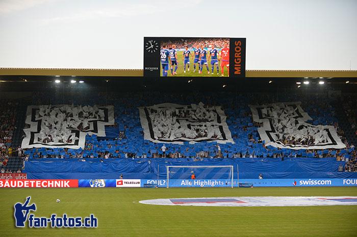 F-C-L: Diese Buchstaben prägen die Luzerner Fans. (Bild: fcl.fan-fotos.ch / Dominik Stegemann)