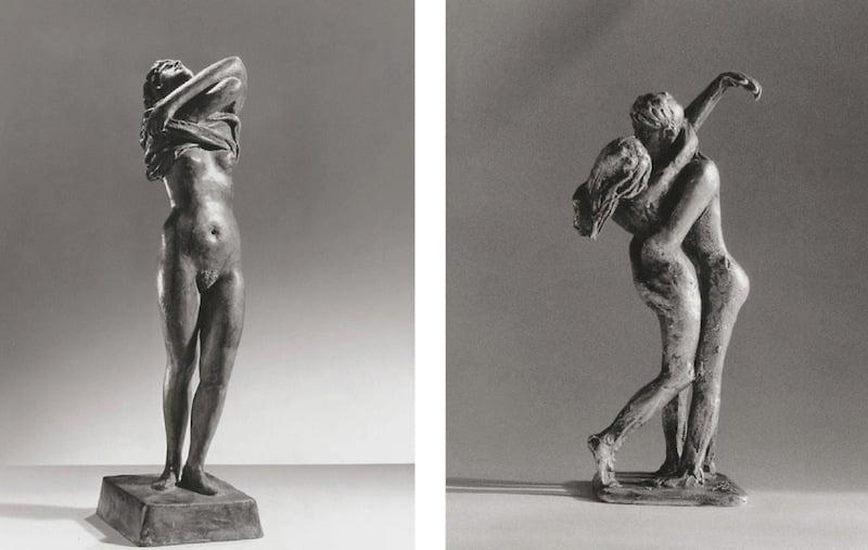 Rolf Brem hat neben den grossen Skulpturen auch zahlreiche filigrane Arbeiten und Zeichnungen gemacht.(Bild: Webseite rolfbrem.ch)